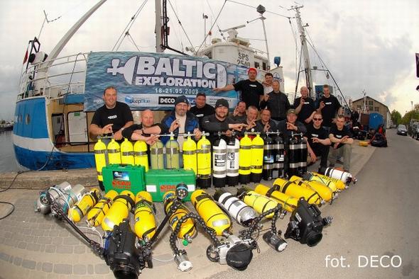 Baltic Exploration 2009 - uczestnicy