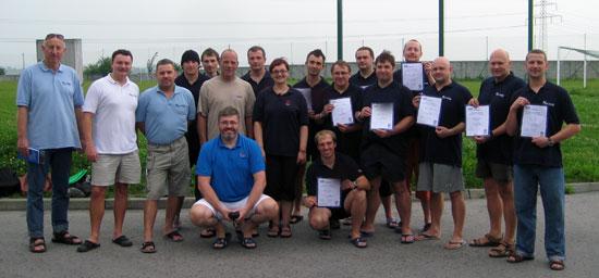 Kurs instruktorski PADI - po egzaminie sierpień 2010