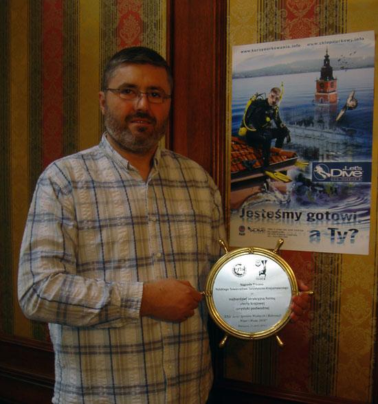Nagroda Prezesa PTTK dla Let's Dive